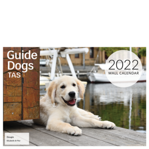 wall calendar with photo of puppy