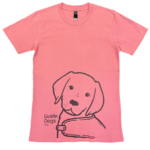 pink t shirt with puppy